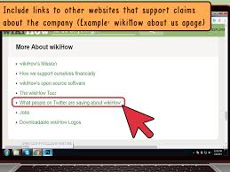technical writing how to articles from wikihow how to write a company profile for a website