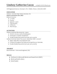 11 sample resume for high school student easy resume samples 11 sample resume format for high school student