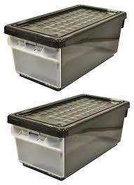 <b>Купить</b> BranQ Набор из 2х контейнеров для хранения с боковой ...