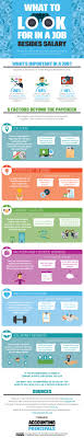 infographic what to look for in a job besides salary advice resources