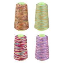 Радужные нитки для шитья текстильные <b>нити для рукоделия</b> ...