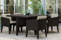 <b>Комплект мебели Keter Columbia</b> set 5 pcs коричневый-теплый ...