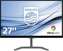 <b>Philips</b> (<b>27</b> inch) LCD Monitor E Line 1000:1 250cd/m2 1920 x 1080 ...