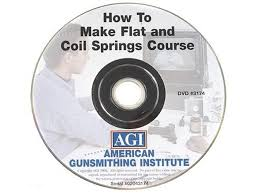 American Gunsmithing Institute (AGI) Video How to Make <b>Flat Coil</b>