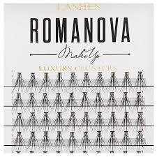 Купить <b>Romanova MakeUp Пучки F</b>-<b>Short</b> 8 мм, 0.10 мм черный по ...