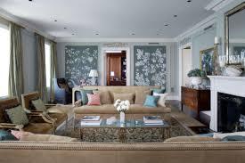 white living room firepit