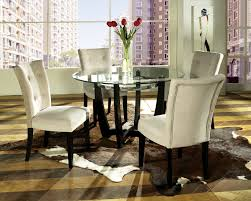 Modern Round Dining Room Tables Incredible Dining Room Big Chandelier Above Black Dining Table
