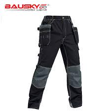 Bauskydd <b>High Quality Men's black</b> Cargo Pants Casual Pant Multi ...