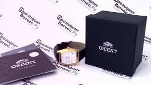 <b>Часы Orient ERAE006W</b> [FERAE006W0] - видео обзор от ...