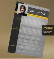Free Resume Templates  u     Creative Free Templates   resume free Uiconstock