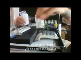 Unboxing Killer Ink tattoo <b>kit professional</b> lll - Advanced (Español ...