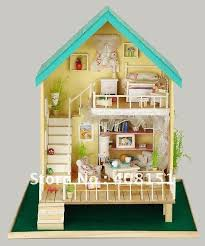 miniature dollhouses free shipping dollhouse miniature diy kit w light country romantic aliexpresscom buy 112 diy miniature doll house