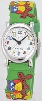 """Наручные детские <b>часы Тик</b>-Так """"Совы"""" <b>H107</b>-<b>2 совы</b> для детей ..."""