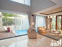 majalah interior rumah minimalis: Desain rumah tropis sederhana majalah griya asri