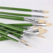 <b>6pcs</b>/<b>Set</b>,pig bristle artist <b>oil painting</b> brushes chese painting brush ...