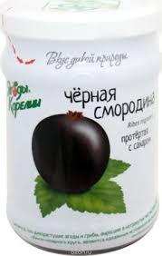 Ягоды Карелии <b>Черная Смородина</b> Протертая с Сахаром, 280 Г ...