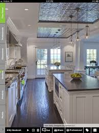 beach condo kitchen ceiling