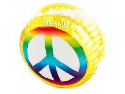 <b>Йо</b>-<b>Йо Эврика Волчок на</b> шнуре Peace №4 97128