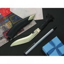 "KH0071, <b>Кукри 4</b>"" <b>Paper Kukri</b> Steel Blade, 100 мм, Carbon ..."