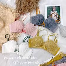 Sexy Lace girls intimates Bra Sets <b>Women</b> Seamless Embroidery ...
