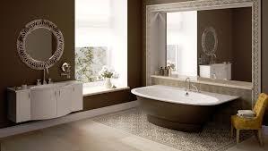 Oversized Bathroom Rugs Modern Bathroom Pedestal Sink Nearby Floor Standing Water Closet