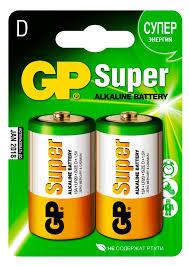 Купить <b>Элемент питания GP</b> 13А LR20, 2 шт с доставкой по цене ...