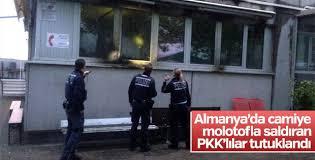 Almanya'da camiye saldıran 2 PKK'lı tutuklandı