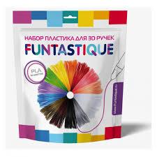 <b>Комплект</b> ПЛА-<b>пластика</b> для 3D-ручек 10 цветов <b>Funtastique</b> ...