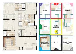 feng shui floor plans bad feng shui house design