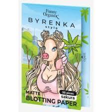 Матирующие <b>салфетки</b> для лица <b>Funny Organix Byrenka</b> Style ...