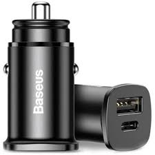 Автомобильное <b>зарядное устройство Baseus Square</b> metal A+C ...