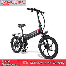 Pre-sale <b>Samebike 20LVXD30 Smart Folding</b> Electric Moped Bike E ...