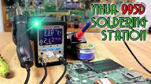 <b>Yihua</b> 995D <b>soldering station</b> - YouTube