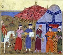 genghis khan gone indie page  1024 djengiz khacircn et les envoyeacutes chinois jpeg rashid illustration