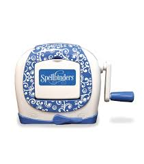 spellbinders sapphire mini die cutting machine jo ann null