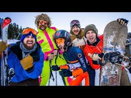 <b>Skiing</b> Stereotypes | Dude Perfect - YouTube