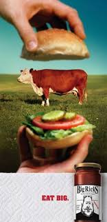this ad is giving you another thought about where your food comes from do you anti advertising agency office