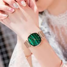 <b>HANNAH</b> Martin женские кварцевые <b>часы</b> Зеленый Малахит ...