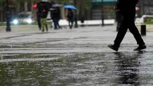 Resultado de imagen para santiaguinos lluvia