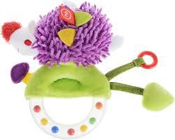 Погремушка-<b>пищалка Happy Baby Funny</b> Hedgehog — купить в ...