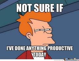 Nothing Productive by sudarshan - Meme Center via Relatably.com