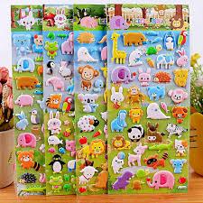 4 шт., <b>детские наклейки kawaii</b> с изображением животных, утки ...