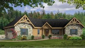Ranch House Plans  amp  Designs   Simple  amp  Craftsman Styles  THDimage of GREENSBORO III C House Plan