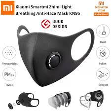 <b>Original</b> Xiaomi <b>Smartmi Mask</b> Professional Protection 3D Structure ...