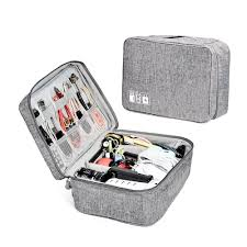 ZRSE Electronic <b>Organizer</b> Travel Universal <b>Gadget</b> Bag <b>Cable</b> ...