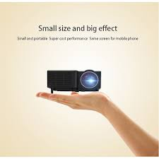 Home Mini Phone Projector Uc28c Small LED HD Home Portable ...
