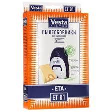 <b>Vesta</b> Filter ET 01 (<b>комплект пылесборников</b>). Дешевле, чем у ...