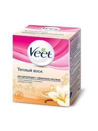 Тёплый <b>воск для</b> депиляции с эфирными маслами 250мл VEET ...