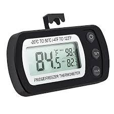 <b>Waterproof Digital LCD</b> Freezer Fridge Refrigerator <b>Thermometer</b> ...