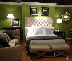 bedroomcaptivating green master bedroom decor with white tufted haedboard and cream sofa sets also bedroomcaptivating comfortable office